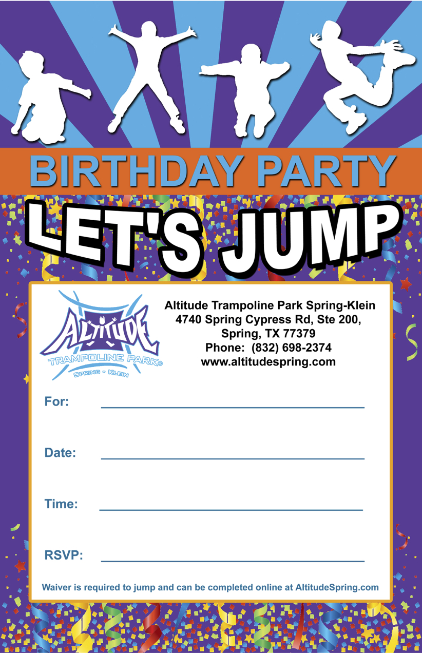 Download Our Birthday Party Invite Here
